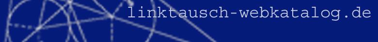 Webkatalog www.linktausch-webkatalog.de Linkverzeichnis Suchmaschine URL Eintragen